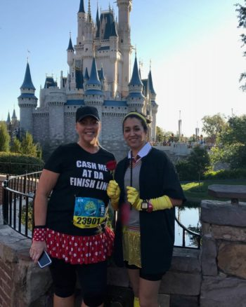 Hermione Belle Running Costume for Princess Half Marathon – Beauty and the Beast/Harry Potter Mashup