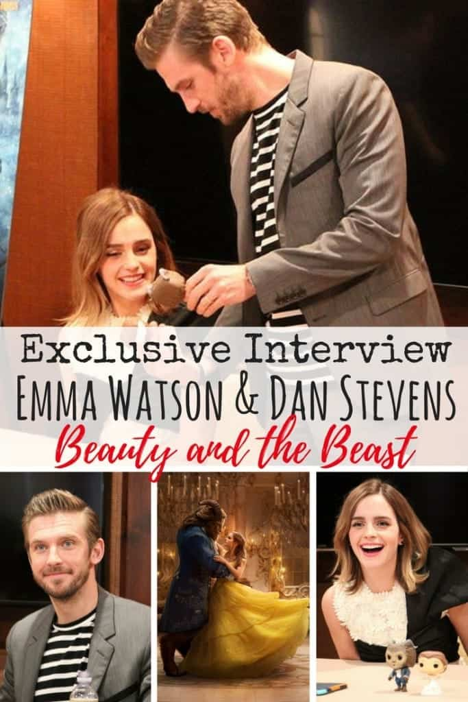 Who else is excited for Disney's Beauty and the Beast? I got the opportunity of a lifetime to head to L.A. and interview Emma Watson and Dan Stevens and some of the cast. Find out if they stayed true to Belle and the Beast and my favorite quotes! They made me forget about Hermione from Harry Potter and Matthew from Downton Abbey.
