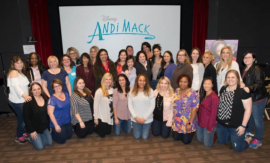 I had he chance to sit down with the cast and producers of Andi Mack!