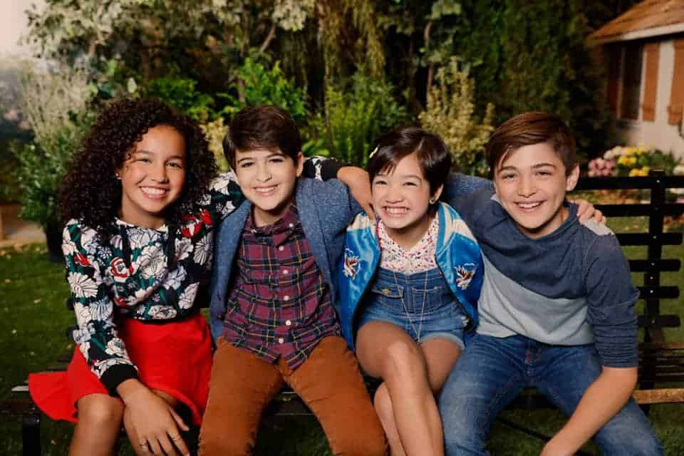 Disney Channel's Andi Mack boasts a strong cast of kids and teens.
