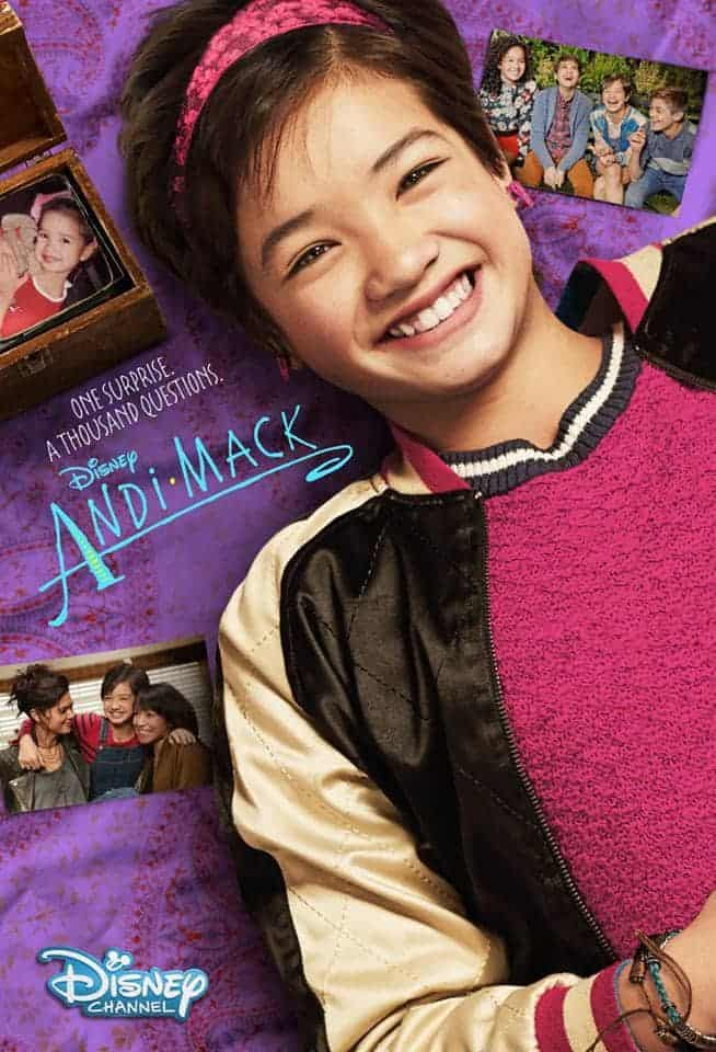 Disney Channel presents new show, Andi Mack, about a girl trying to figure it all out in life.