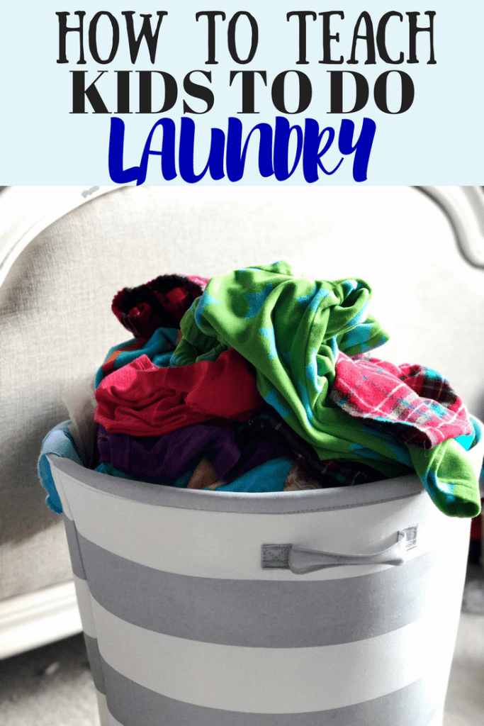 Tips to teach your kids to do laundry. I've got some fun ideas on how to make laundry fun and organized, so you can channel your inner Mary Poppins!