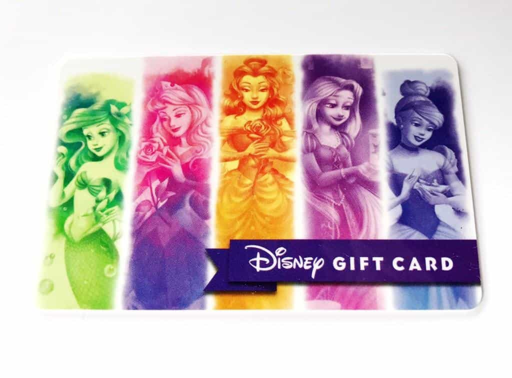 Spend this cute $100 Princess Disney Gift Card on something nice! Have you been eyeing an Alex and Ani bracelet or Dooney purse?