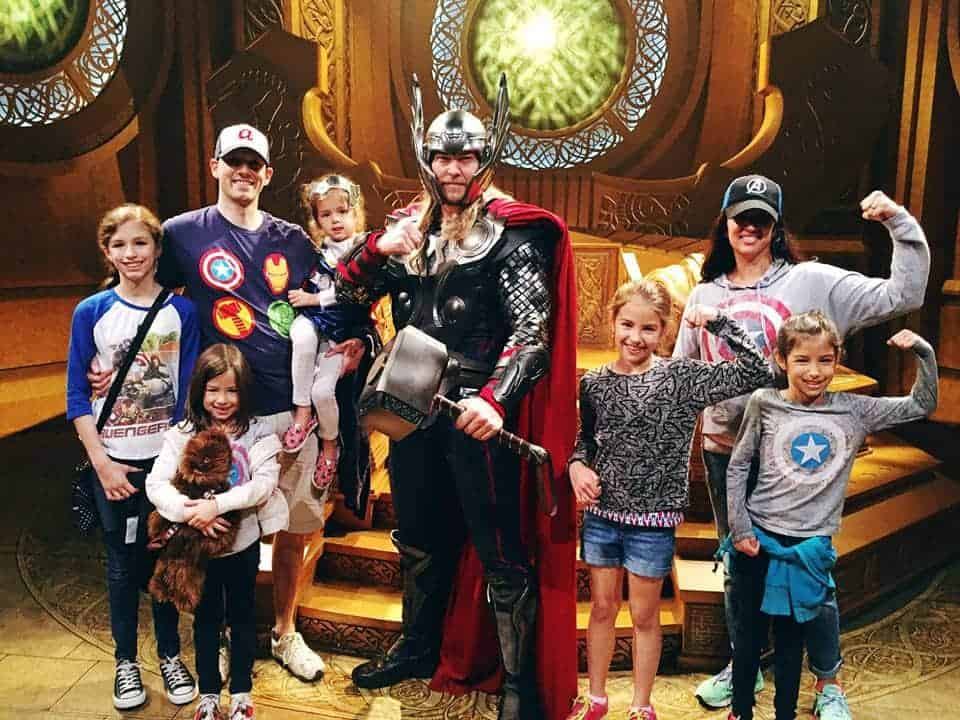 It's been one year since Lola Lambchops started. We need tribes. Here's my tribe with Thor at Disneyland.