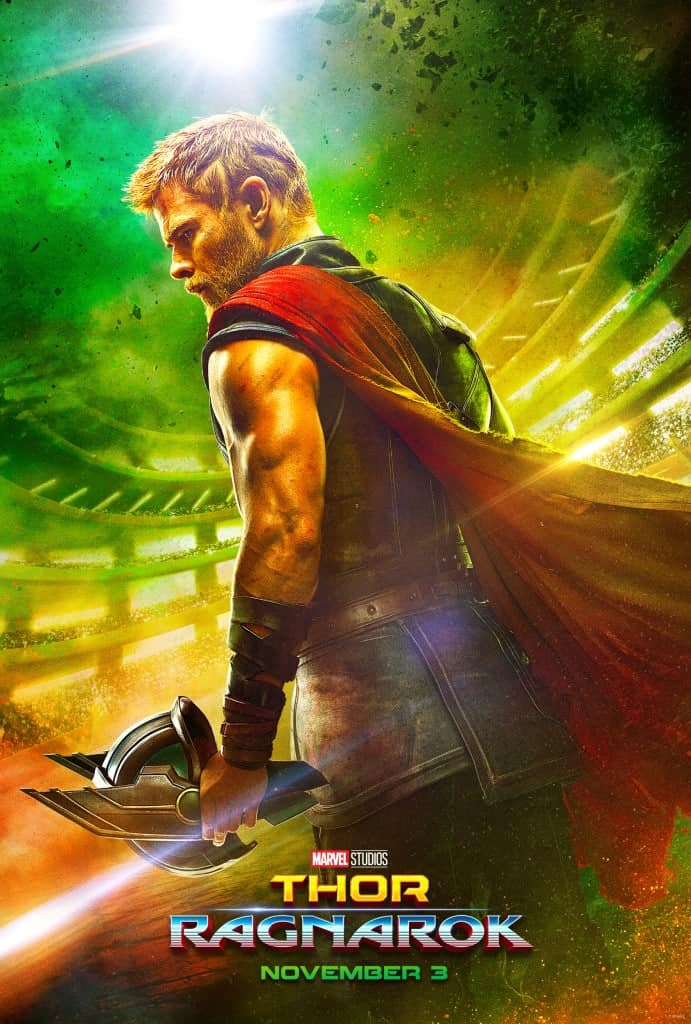 Thor: Ragnarok Poster - It's pretty awesome!