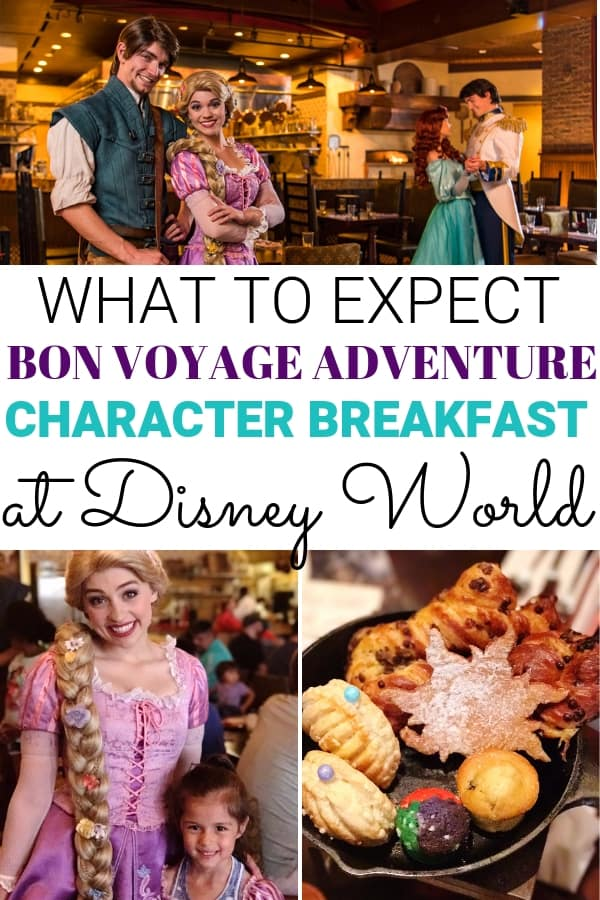 What to expect at Trattoria al Forno Bon Voyage Adventure Character Breakfast at Disney World! You'll get to meet Flynn Rider, Rapunzel, Ariel, and Prince Eric. Is the Bon Voyage Adventure Character Breakfast worth the price?
