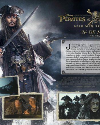 Disfrute del paquete de actividades para Pirates of the Caribbean: Dead Men Tell No Tales.