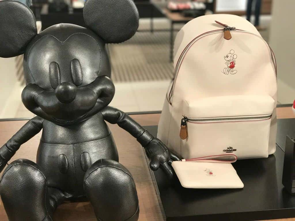 If you're a high roller, you can buy the leather Mickey Mouse for only $750.