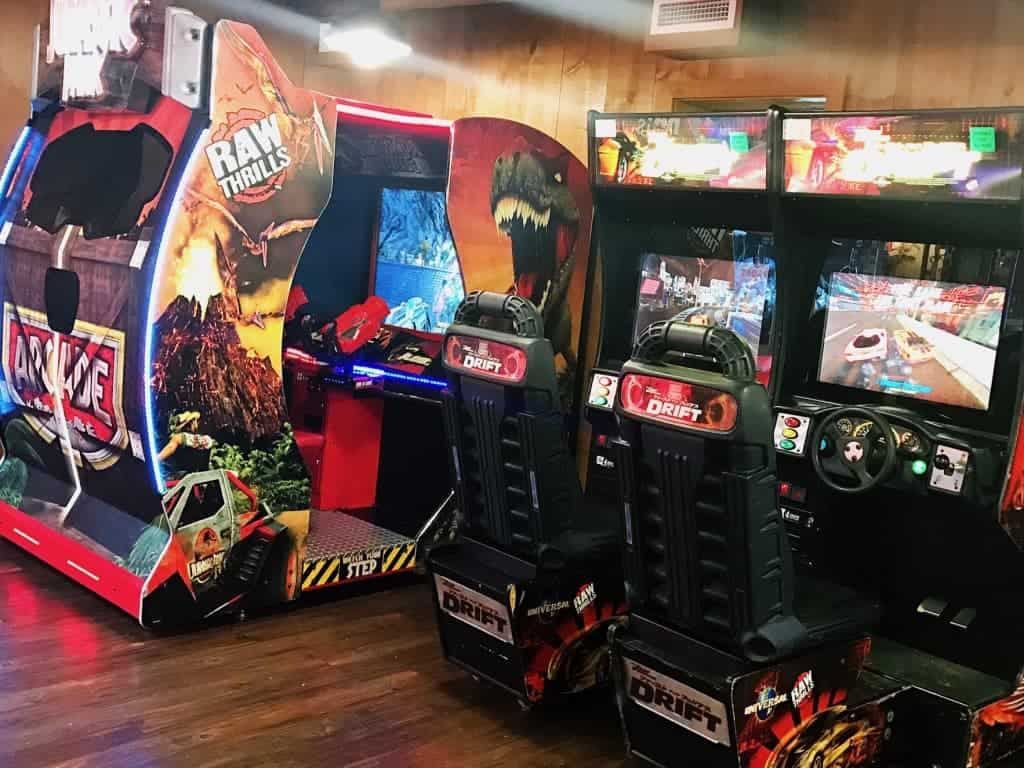 Have fun in the mini arcade at Hersheypark Camping Resort!