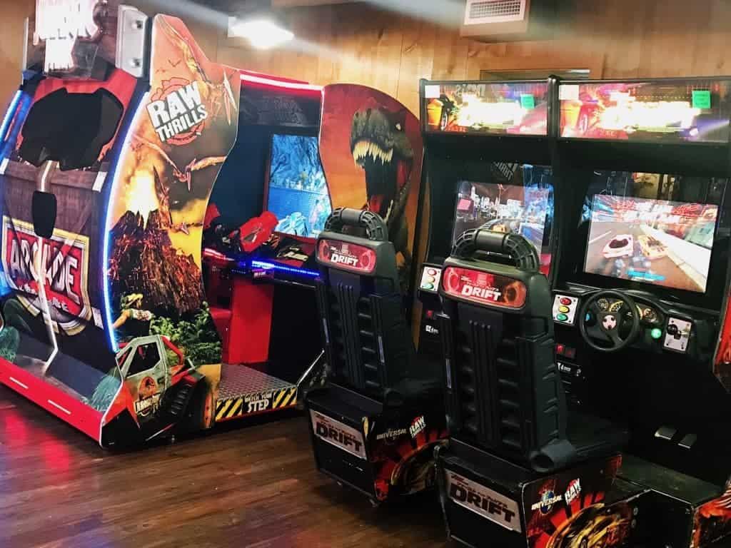 Have fun in the mini arcade at Hersheypark Camping Resort!