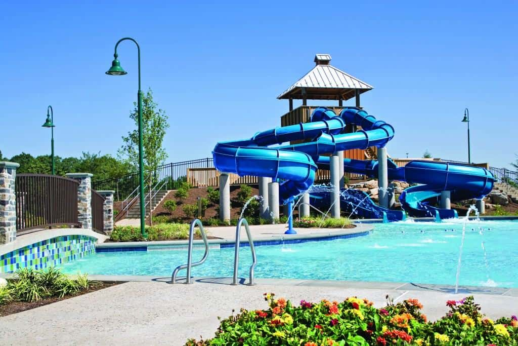 Take a dip in pools at The Hoel Hershey which provides fun for your whole family!