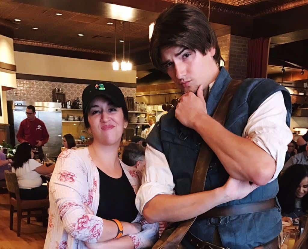 Meet Flynn Rider at the Bon Voyage Character Breakfast on Disney's BoardWalk.
