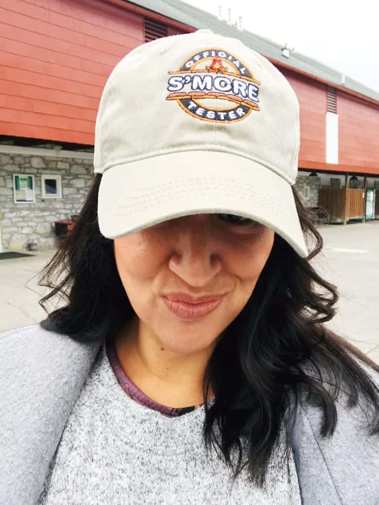 Find cute s'more apparel in the gift shop at Hersheypark campground.