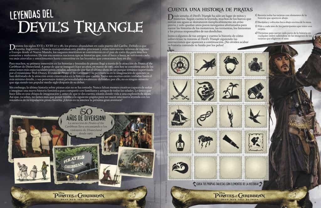 Leyendas del Devil's Triangle en este paquete de actividades de Pirates of the Caribbean: Dead Men Tell No Tales.
