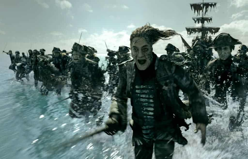 Javier Bardem plays a mean pirate in Pirates of the Caribbean: Dead Men Tell No Tales review.