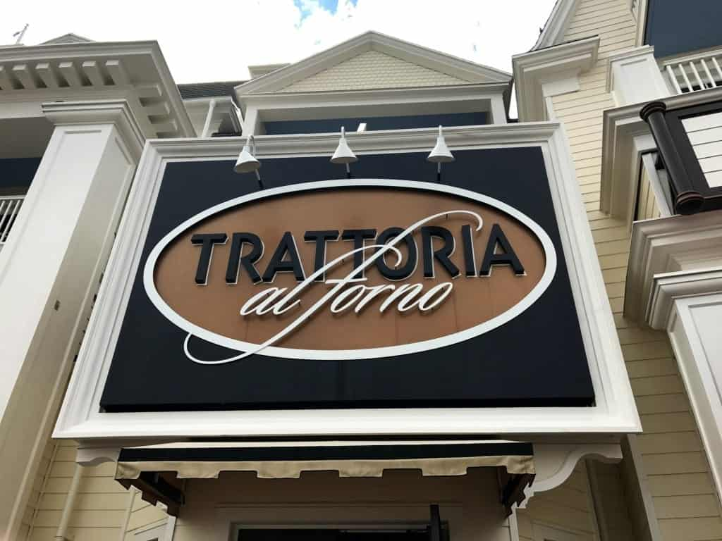 You can have breakfast with Rapunzel and Flynn Rider at Trattoria al forno at the Bon Voyage Character Breakfast.