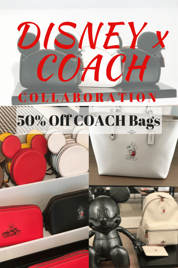 Did you know Disney and Coach collaborated with a line for the Coach Outlet? They did, and it's amazing! Check out the Disney Coach merchandise and the prices! I took a trip to my local COACH outlet to see what was left. Mickey Mouse bags, purses, backpacks, shoes, clothes, and more!