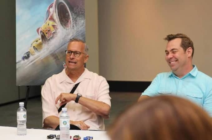 Kevin Rehers swears in our exclusive Cars 3 interview.