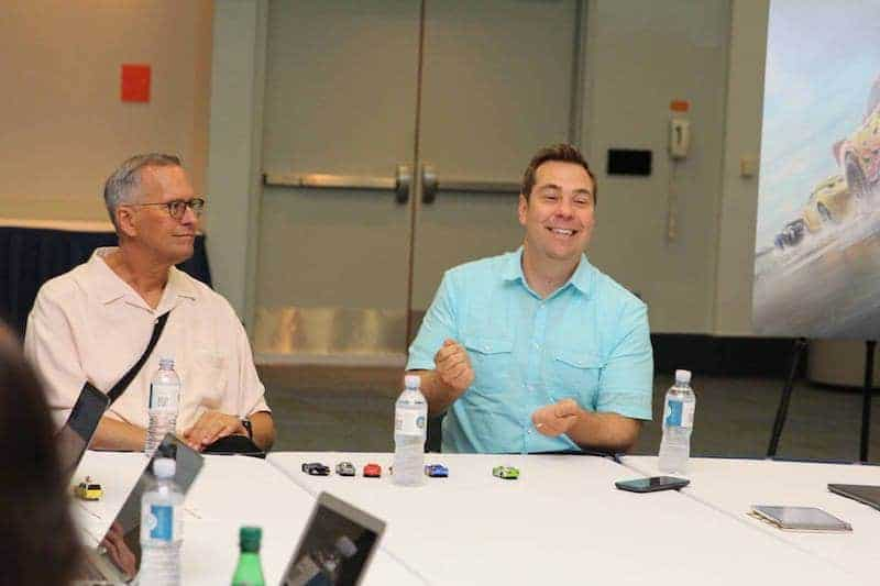 Cars 3 Exclusive Interview with Director and Producer Brian Fee and Kevin Reher.