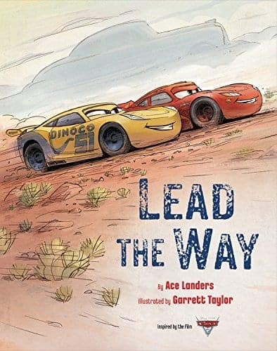 Lightning McQueen shows Cruz the way in this Cars 3 Book!