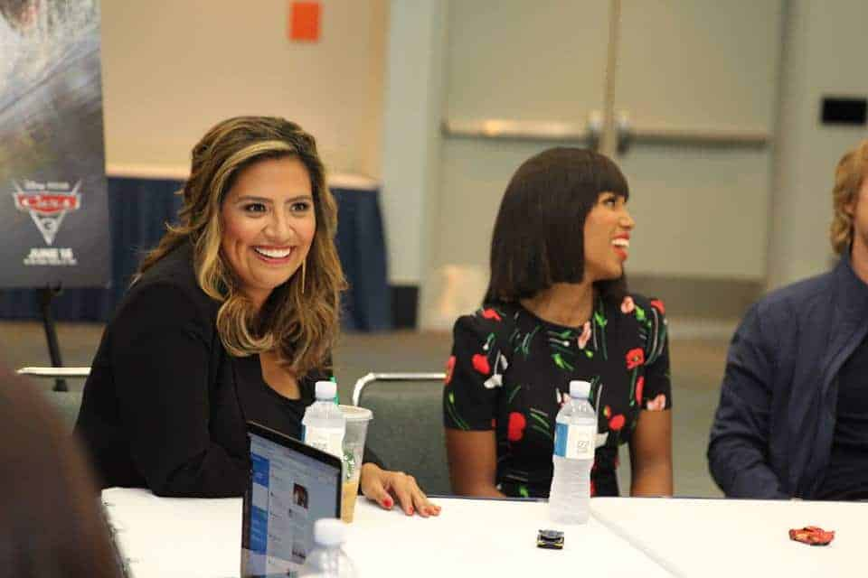 Kerry Washington and Cristela Alonzo drop words of wisdom on us during our exclusive Cars 3 interview.