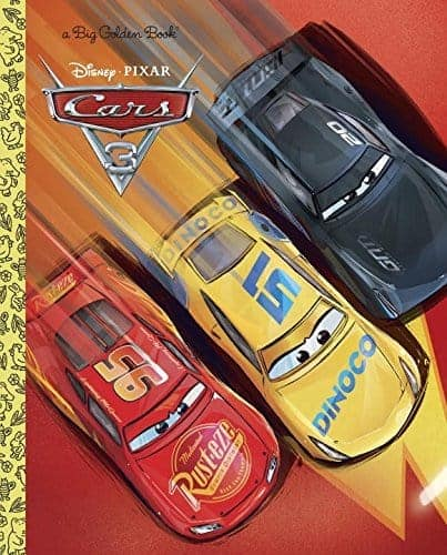 The Cars 3 Golden Book is perfect for little readers!