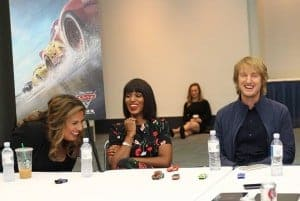 Exclusive Cars 3 Interview with Cristela Alonzo, Kerry Washington, Owen Wilson, and Armie Hammer | #Cars3Event