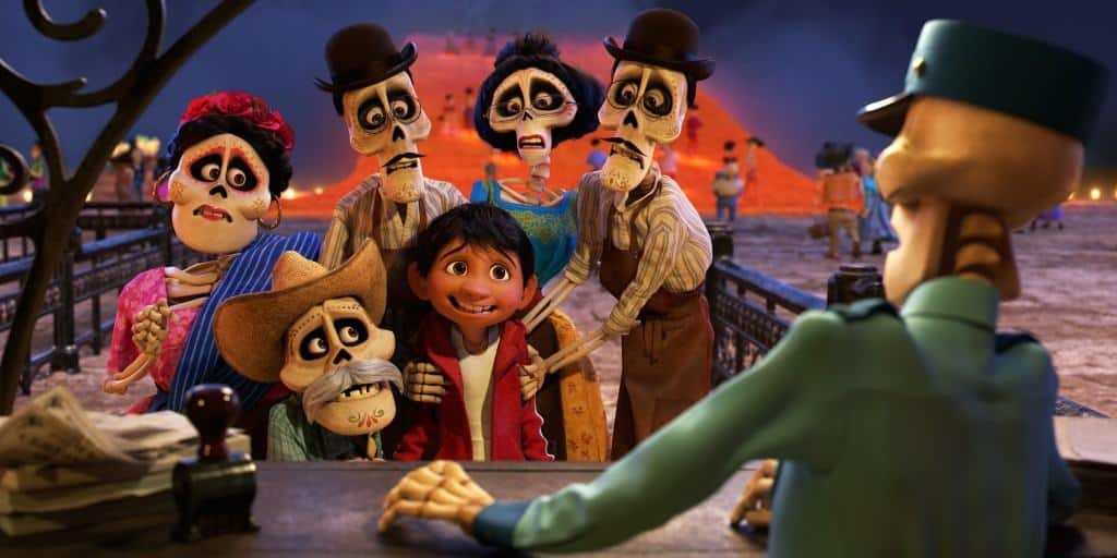 In the new Coco trailer, Miguel's family who have passed away, try to help him find his way home.