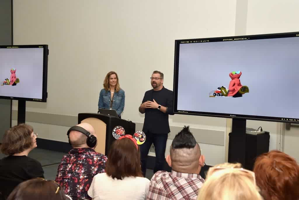Dave Mullins and Dana Murray share fun facts and the story about the making of Lou, Pixar's newest short film.