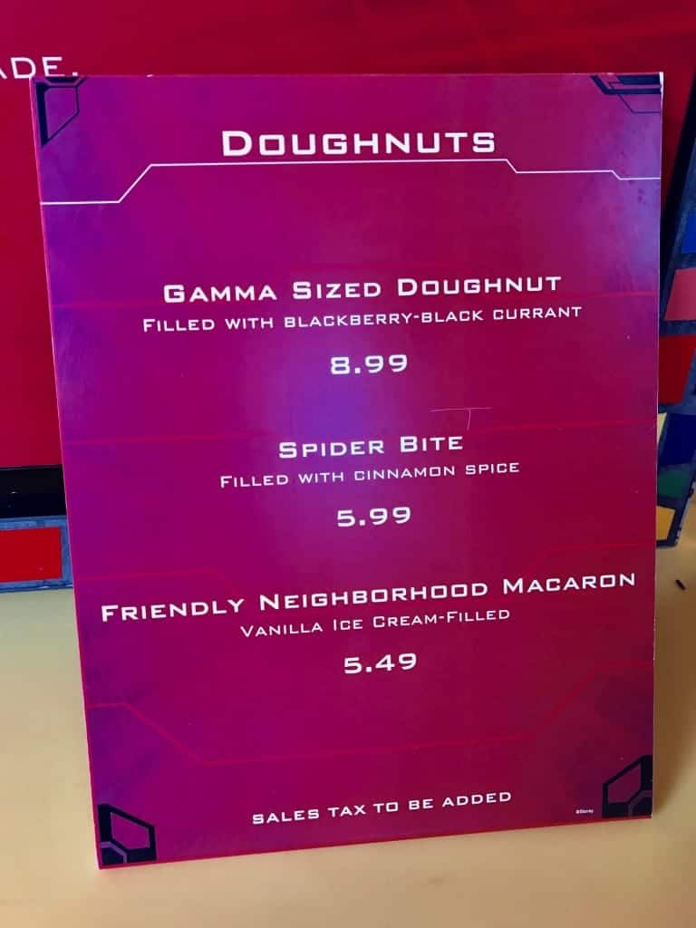 Get yourself a huge gamma-sized doughnut at Summer of Heroes in Disney California Adventure!