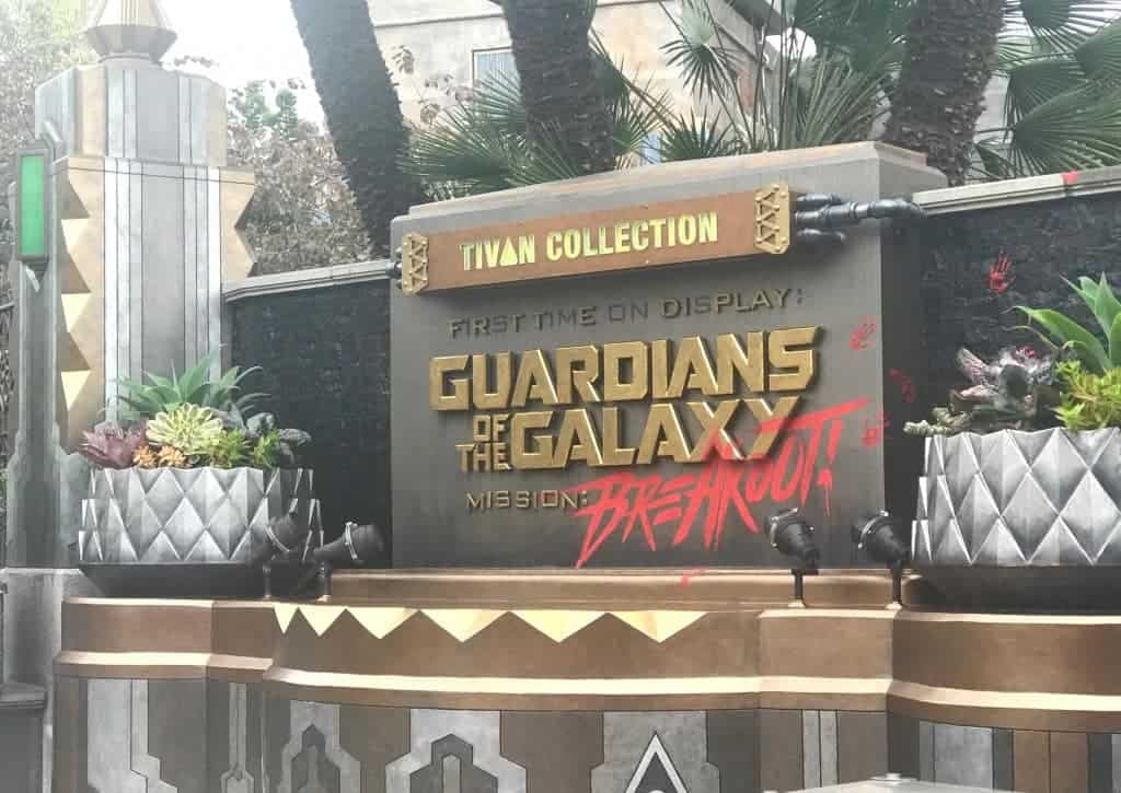 Guardians of the Galaxy: Mission BREAKOUT! is the hottest new ride in Disneyland!