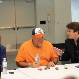 Larry the Cable Guy and Nathan Fillion Cars 3 Cast Interview