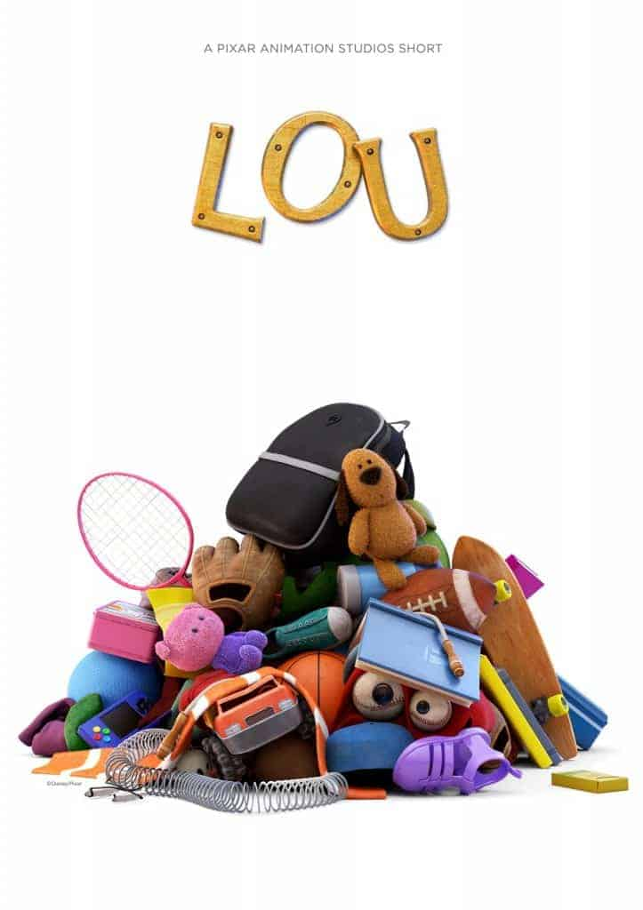 At the Cars 3 Event, we are going to screen Pixar's short film, LOU. I can't wait!