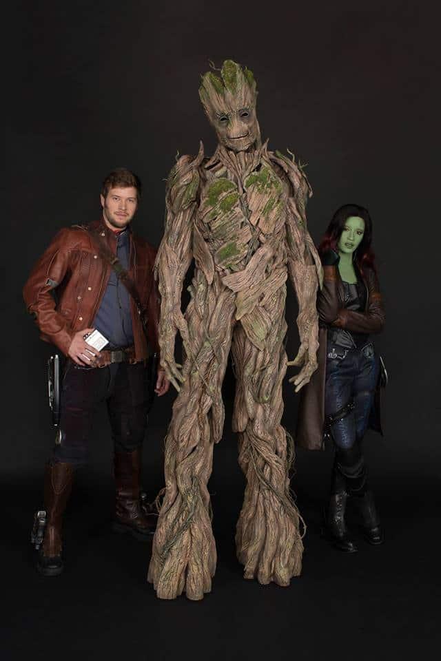 Meet Star-Lord, Gamora, and Groot at Disneyland during Summer of Heroes!