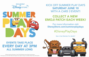 The Best Cars 3 Toys and Announcing Disney Store Summer Play Days
