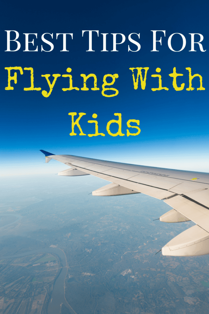 The best tips for flying with kids! Flying isn't always easy, but here are our recommendations and tips for best snacks, activities, and entertainment for surviving those flights and airports with toddlers and children! Family travel is fun!