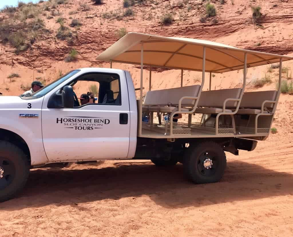 Take a ride in your own private vehicle with a Slot Canyon Tour in Page, Arizona