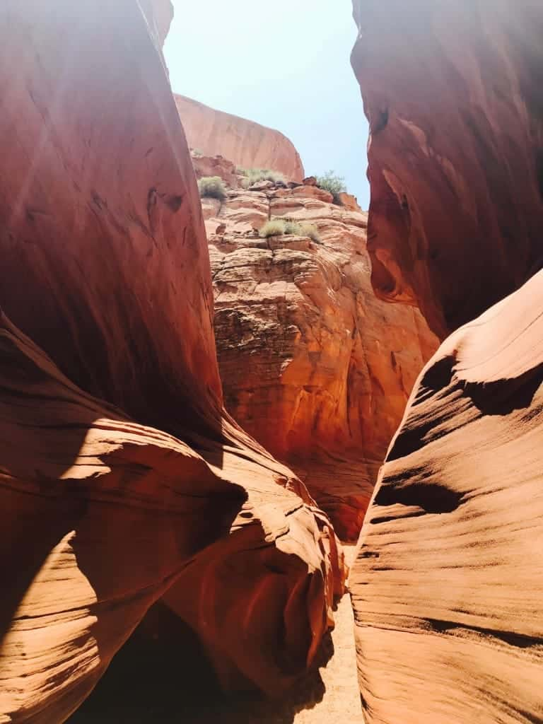 There are no crowds for your Slot Canyon Tour if you use a private tour company.