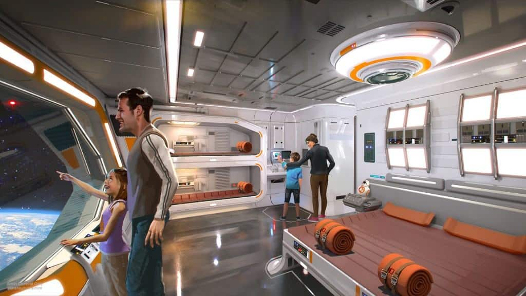 At D23 Expo, they announced a new Star Wars themed hotel for Walt Disney World Resort, part of what's new and coming for Disney World!