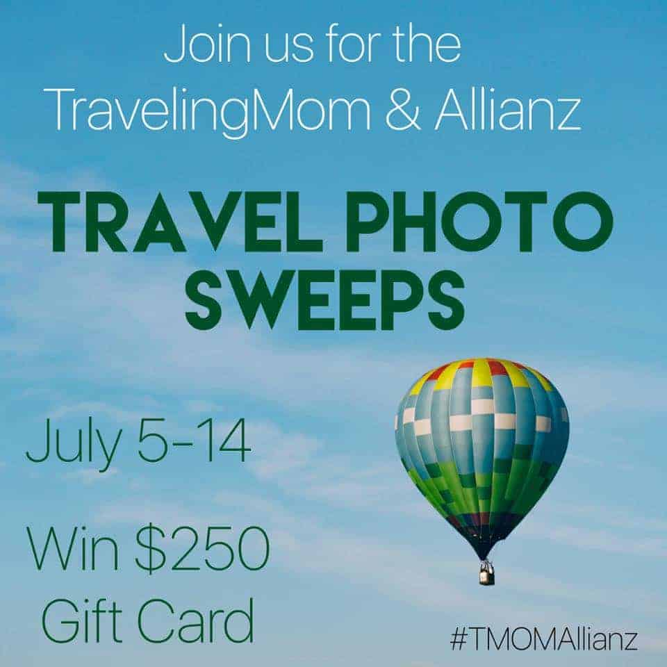 Win a $250 Gift Card with TravelingMom and Allianz on Instagram!