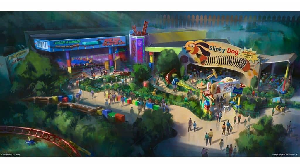 What's new at Disney World in 2018? Toy Story Land is coming with two new rides!