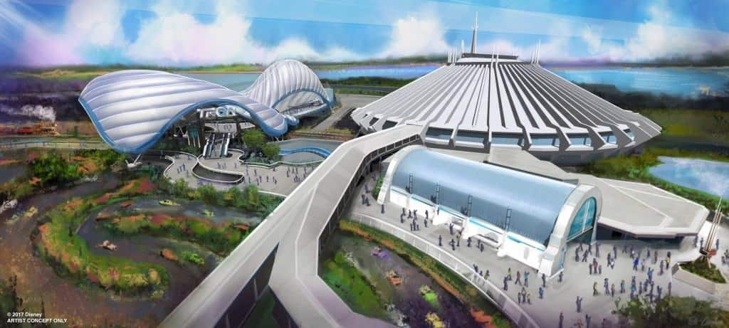 Another what's new at Disney World is Tron - a roller coaster next to Space Mountain in Magic Kingdom!