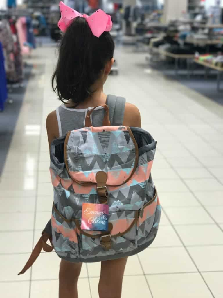 Back-to-school shopping for backpacks at Sears!
