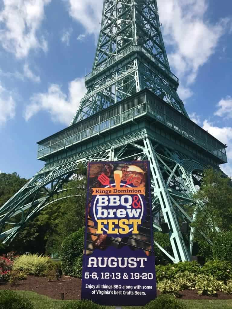 Enjoy all the BBQ at Kings Dominion BBQ & brew fest!