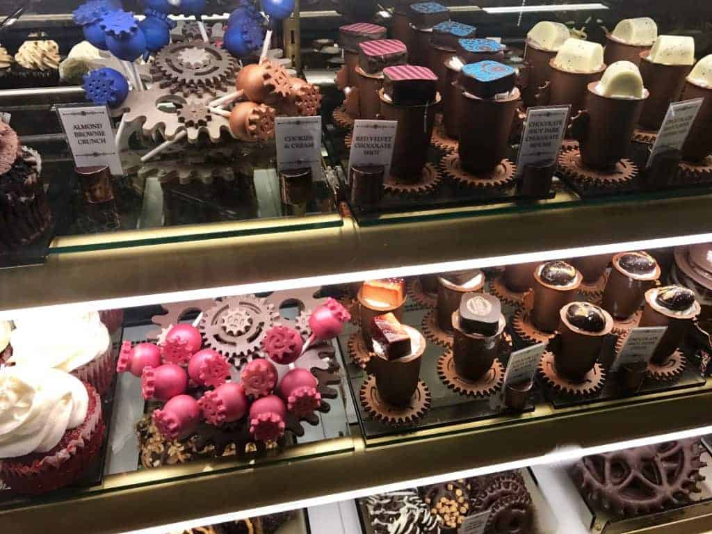 Stop by for some fun treats at Toothsome Chocolate Emporium in Universal Orlando.