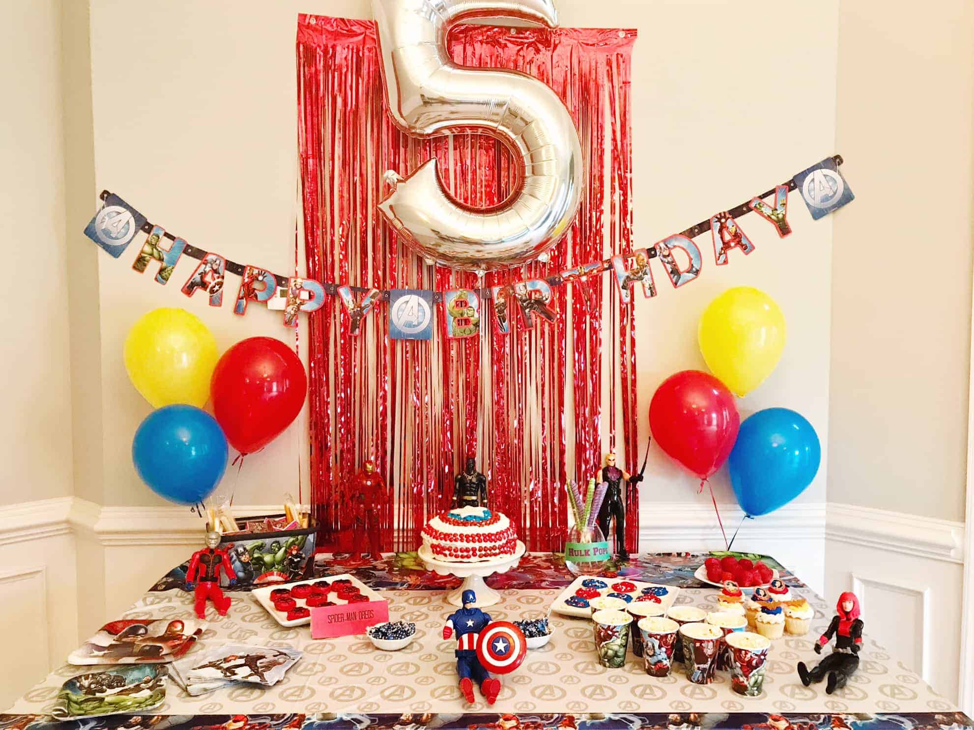 Superhero Party Ideas Food Decor Invitations And Games