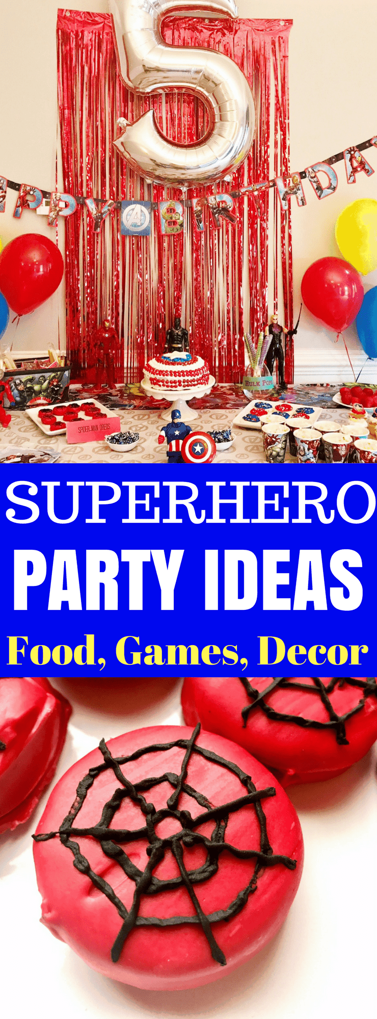 Superhero Party Ideas Avengers Party Games Decor Food Invitations