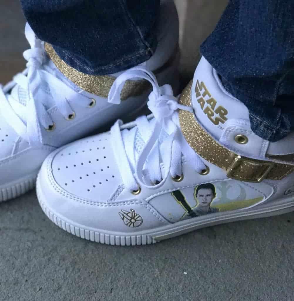 Star Wars shoes at Sears!