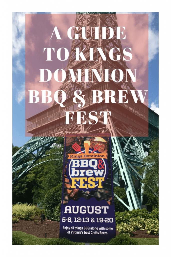 Here's your guide and information for Kings Dominion BBQ & Brew Fest near Richmond, Virginia. A food and beer festival with live entertainment, BBQ, desserts, and more! Plus you can still ride all the roller coasters and kiddie rides in Planet Snoopy. A perfect family travel destination.