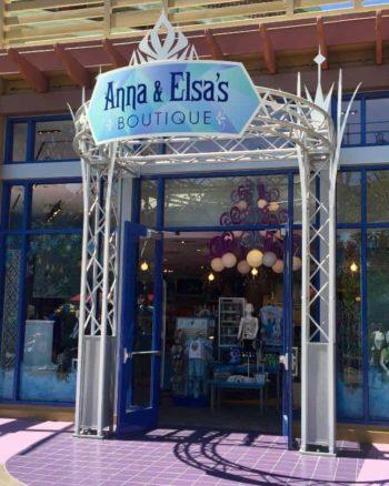 Anna & Elsa's Boutique in Disneyland No Longer Offering Makeovers